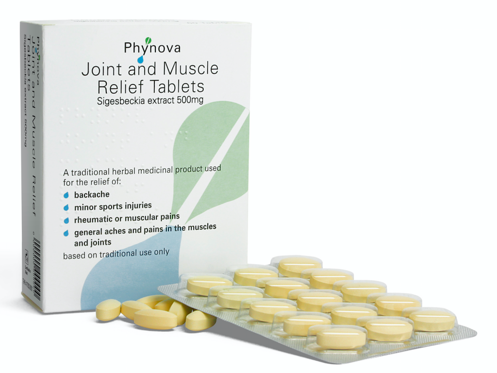 Phynova joint and muscle relief tablets phynova